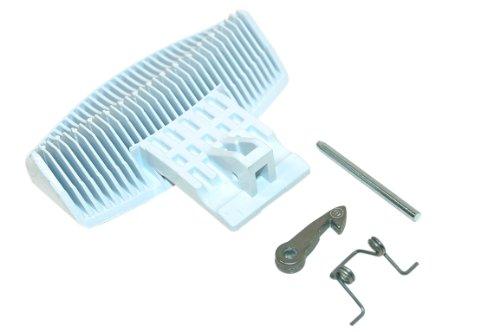 Genuine Hotpoint Awm108 Bhwd129 Bhwd149 Lavatrice White Door Kit maniglia