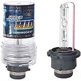 Hrph 1 par de xenón HID bulbo de la linterna 12V 35W convension Kit de reemplazo de la lámpara 2 Juego de luces D2S D2C super brillante para el coche
