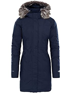 North Face W Arctic Parka, Mujer, Azul (Urban Navy/Vintage White), L