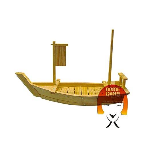 Barca in legno per sushi e sashimi 90 cm