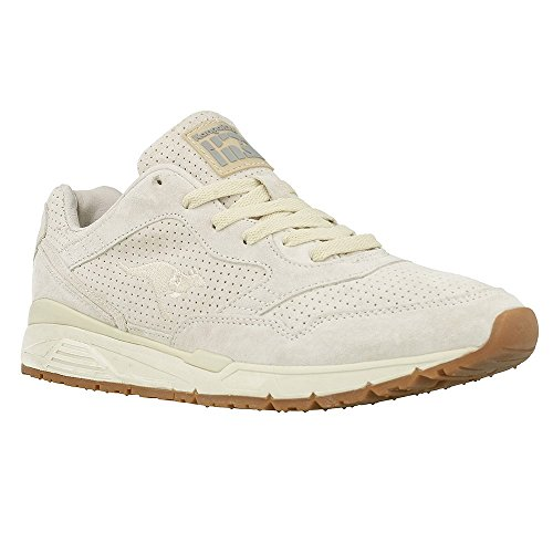 KangaROOS Unisex-Erwachsene Ultimate Leather Low-Top Elfenbein (Off White 010)