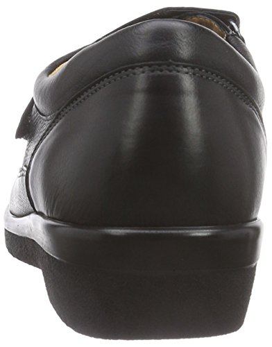Ganter Sensitive Inge Weite Pantofola Donna Nera (nero 0100)