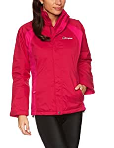 Berghaus Women's Calisto Insulated Shell Waterproof Jacket - Spanish Pink/Pink Bomb, Size 10