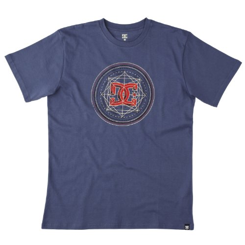 DC Shoes Herren T-shirt Solo Flyer Standard blue indigo