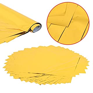 50 Blatt A4 Hot Gold Heat Transfer Folie Papier Laserdrucker Folien Papiere 8 x 12