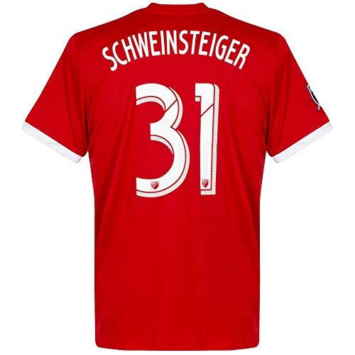 adidas Chicago Fire Home Trikot + Schweinsteiger 31 - L