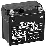 YUASA BATERIA YTX5L-BS AGM abierto - con paquete de ácido
