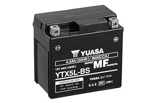 YUASA BATTERIE YTX5L-BS AGM offen mit Saeurepack
