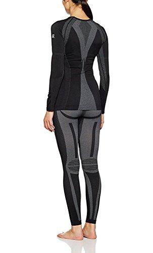 Medico Seamless-Set Frauen, Underwear, Unterwäsche, schwarz (Premium-damen-snowboard-hose)