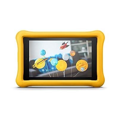 Amazon - FreeTime - Coque spéciale enfants pour Fire 7 (tablette 7 pouces, 7ème génération - modèle 2017), Jaune par Amazon