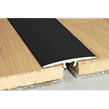 aluminium encadrement de sol aluminium profile /à vis 30x2mm,A02 Noir aluprofile 0.93 m/ètres
