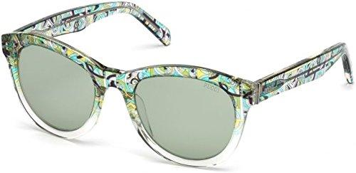 Emilio Pucci Sonnenbrille Damen Grün
