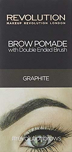 MAKEUP REVOLUTION Brow Pomade Graphite, 3 g
