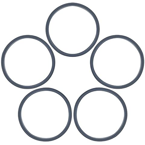 Blulu 5 Pack Gaskets Replacement Sealing Rings for Nutribullet