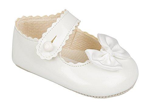 Soho Fashions , Baby Mädchen Lauflernschuhe Weiß