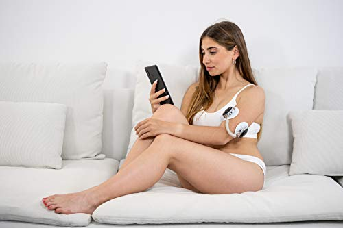 ECO-DE EMS Estimulador Muscular Eléctrico Electroestimulador