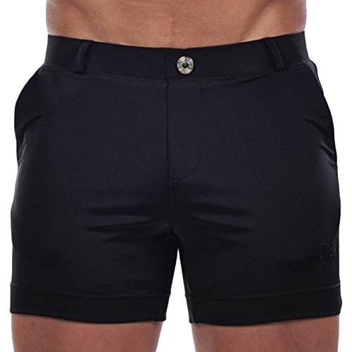 Ropa De Baño Flight Tracker 2eros Icon Ii Swimwear Negro Bañador Bantalón De Baño Traje De Baño Hombres