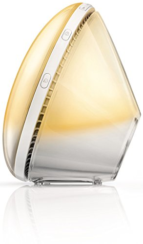 Philips hf3521/01 Wake-Up Light - Lichttherapie (Wake-Up Light, 300 LUX, Lumiled Luxeon Rebel, 40 Min, Ambience, China) (Light Von Philips Wake-up)