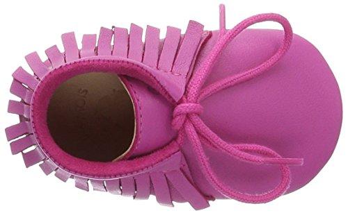 Easy Peasy Meximoo, Chaussons pour enfant mixte bébé Pink (fushia)