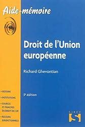 Droit de l'Union européenne - 5e éd.