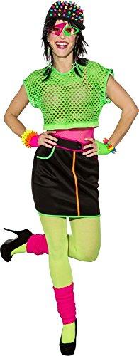 90er Jahre Minirock Rock Karneval Fasching Party Gr.38 (90er Jahre Rock Halloween Kostüm)
