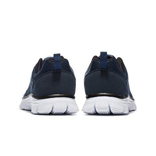 NDB Herren Leichtes Sneaker Sportschuhe Laufschuhe Dunkelblau (Dark Blue)