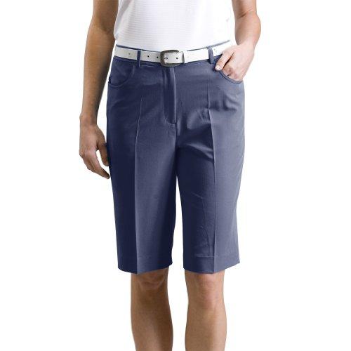 Monterey Club Damen Dehnbar Bermuda Shorts # 2835 Blau navy Size:8 (Dri-fit-puma)