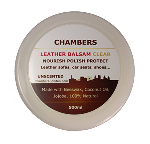 Naturale camere Leather Balsam conditioner 500 ml e adatto per tutti i in pelle liscia, perfetto per divani in pelle anilina