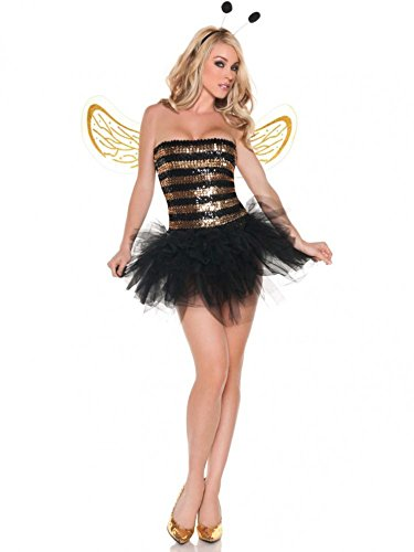 BIENE GOLD Gr. 34-38 (Maya-halloween-kostüm)