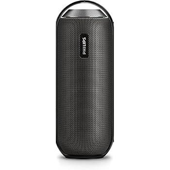 Philips BT6000B Altoparlante Portatile Wireless, con NFC, 12 W RMS, Nero