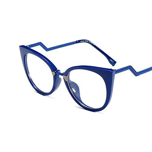 MINGMOU Mode Brillen Brillengestell Frauen Cat Eye Optische Gläser Myopie Computer Damen Weiblich Transparente Dunkle Brille Weiblich, 4