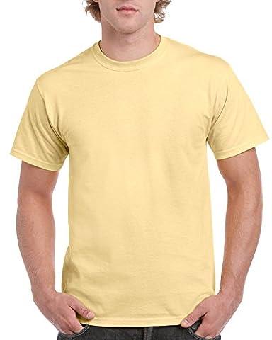Gildan ultra T shirt vegas gold L (GD02)