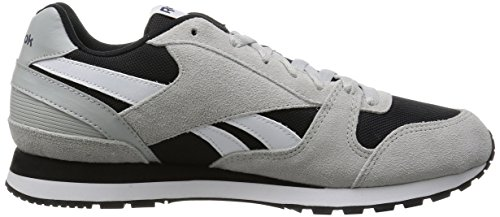 Reebok Gl 3000, Chaussures de Fitness Mixte Adulte Gris (Skull Grey/Black/Blue Ink/Riot Red/White)