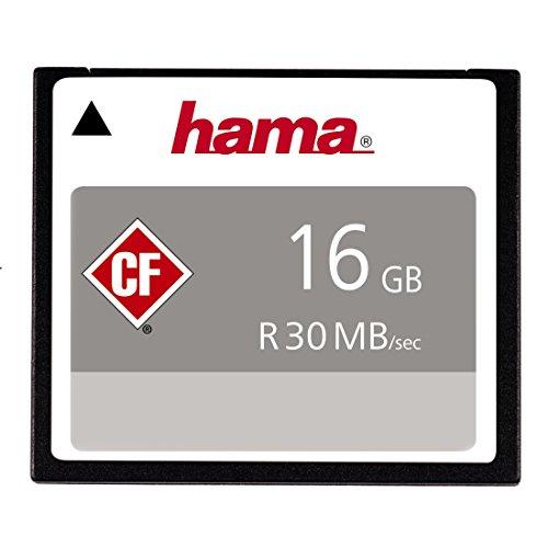 Hama - Pro - Tarjeta de memoria CompactFlash 16 GB
