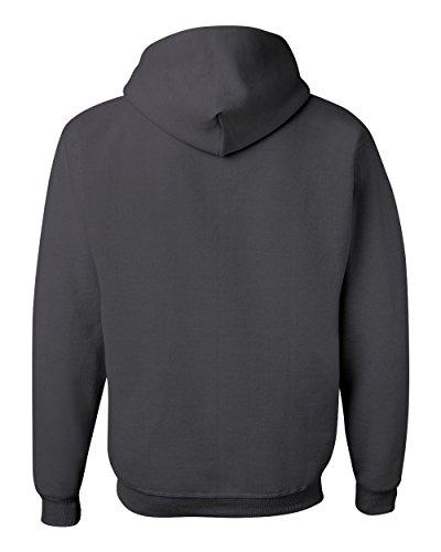 Wei§er Fu§ball auf American Apparel Fine Jersey Shirt Grau