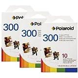 3er Pack Polaroid Instant Film PIF-300 Sofortbildfilm für die 300 Sofortbildkamera