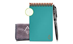 Rocketbook Everlast Mini Smart - Cuaderno reutilizable, Turquesa, Mini A6