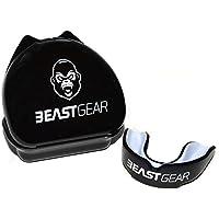 Protège-dents Beast Gear / Gouttière Coque Dentaire Protege Dent – pour Boxe, MMA, Rugby, Muay Thai, Hockey, Judo, Karate, Arts Martiaux et Sports de Combat et Contact