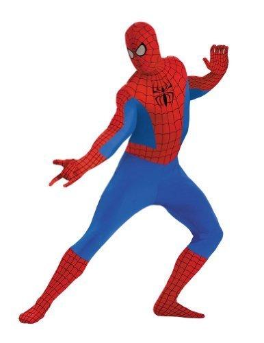 Bestpr1Ce Spider-Man Bodysuit Kostüm für Erwachsene in Größe 50-52 Männer Kostüm für Erwachsene
