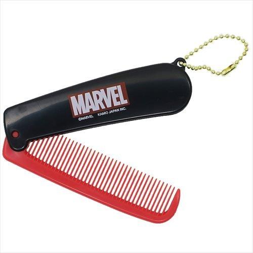 MARVEL folding comb/BOX logo (Folding Grooming)