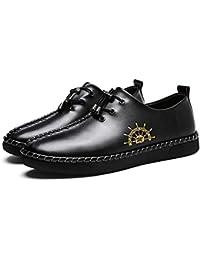Scarpe da uomo PU Primavera/Estate/Autunno New Peas Scarpe Driving Shoes Mocassini e slip-on Outdoor/Office Scarpe morbide in pelle fondo Scarpe singole (Colore…