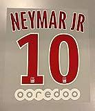 Flock Original Paris Saint-Germain Trikot 20cm - Neymar JR 10