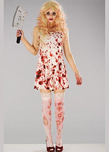 Magic Box Int. Frauen Halloween Zombie Bloody Kleid Kostüm