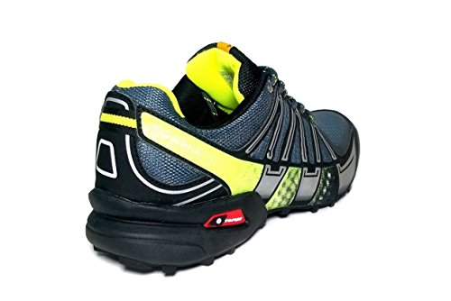 ... XR Trek Explorer Pro, Scarpe da Trail Running Black/Smoke/Fluorescent  Green ...