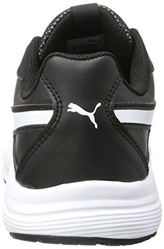 Puma - Axis V4 Sl Jr, Scarpe da Ginnastica Basse Unisex – Bambini Nero (Black-white 07)