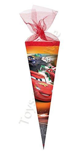 isney Cars Classic Zuckertüte Einschulung Schule Kinder: Größe: 22 cm ()