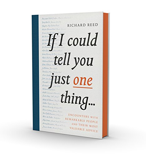 Pdf Download If I Could Tell You Just One Thing