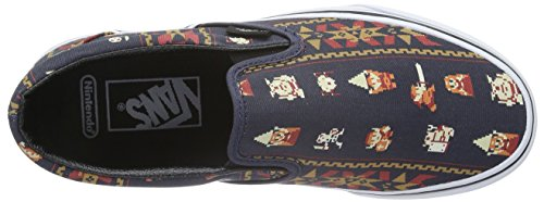 Vans - Classic Slip-on, Scarpe da Ginnastica Basse Unisex da Adulto Multicolore ((Nintendo) Zelda/parisian night)