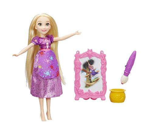 er Reveal Rapunzel Puppe Canvas - ()