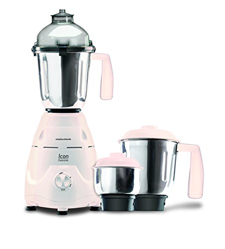 Morphy Richards Icon Essentials 600-Watt Mixer Grinder (White)  available at amazon for Rs.3319